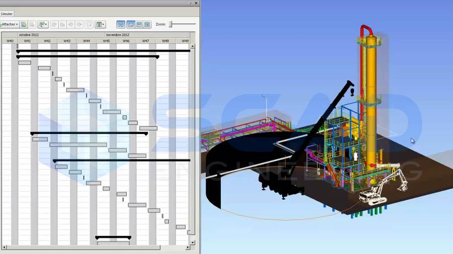 Scad engineering simulation de travaux for Simulation 3d salon